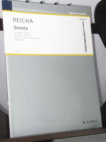 Reicha A - Sonata in B Flat Op post for Bassoon & Piano